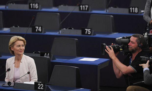 Ursula von der Leyen dürfte sich mit der Zuteilung der Ressorts in ihrer Kommission bis September Zeit lassen. Zuerst sollen alle 27 Kommissarskandidaten fixiert werden.