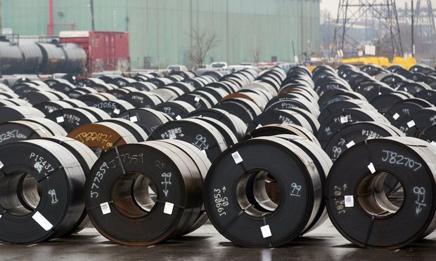 Nur sechs Prozent der Stahlimporte kommen aus der EU.