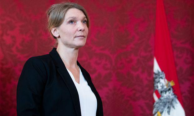 Liste Jetzt-Obfrau Maria Stern.