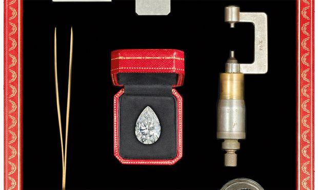 Reinheitsgebot. 30,21 Karat wiegt der Absolute Pure Diamond, den Cartier ergattert hat.