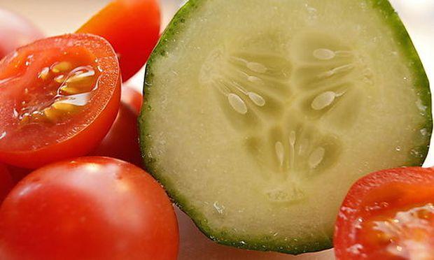 Warnung vor Tomaten, Gurken und Blattsalat wird aufgehoben