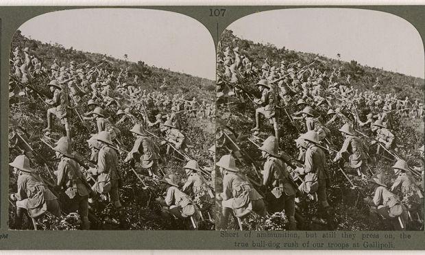 Die Invasion der westlichen Allierten auf Gallipoli