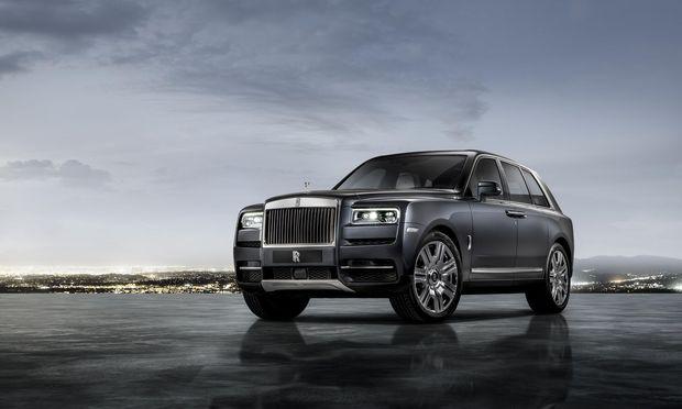 Koloss, der noch die Größten überragt: neuer Rolls-Royce Cullinan.
