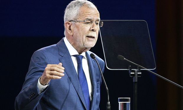 R20 AUSTRIAN WORLD SUMMIT: VAN DER BELLEN