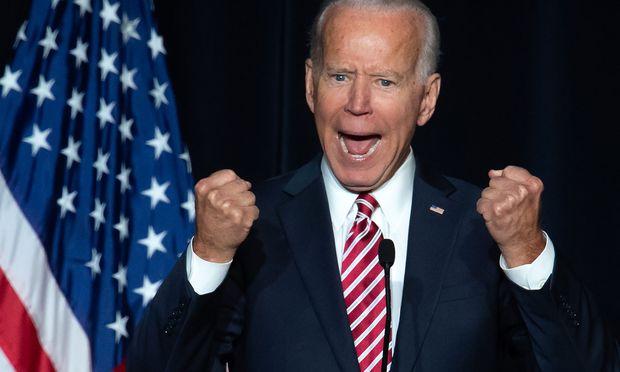 Joe Biden fordert Donald Trump heraus. Zuvor muss er sich aber gegen seine internen Kontrahenten durchsetzen.