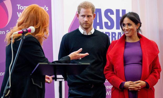 Herzogin von Sussex kennt das Geschlecht des Kindes offenbar noch nicht
