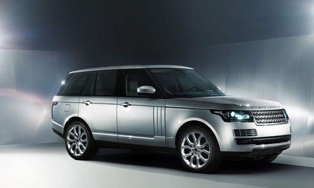 Range Rover Wahrzeichen ueber