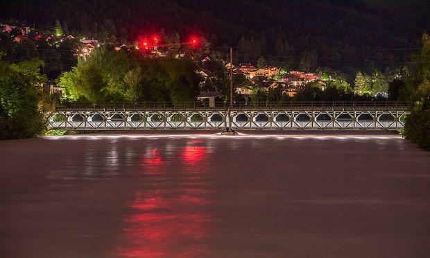 Die Situation in Innsbruck in der Nacht auf Mittwoch
