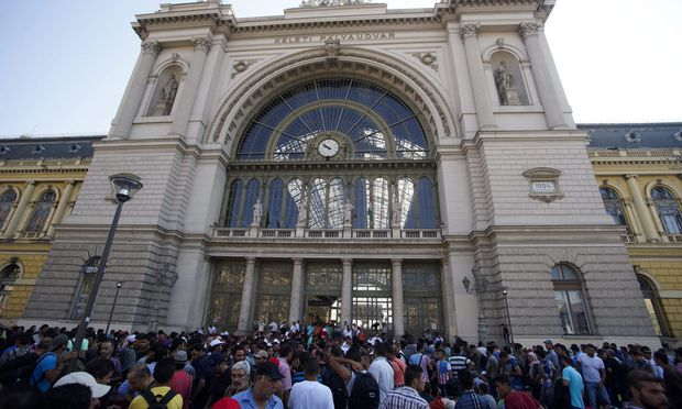 epaselect HUNGARY EUROPE MIGRATION REFUGEES