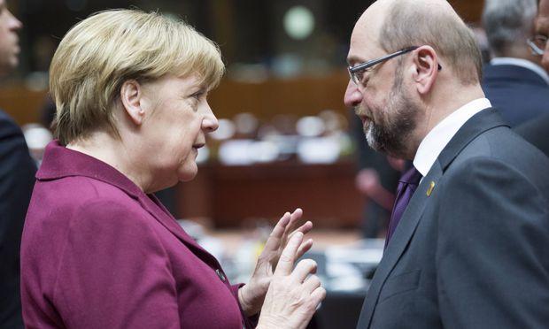 SPD quält sich zur großen Koalition