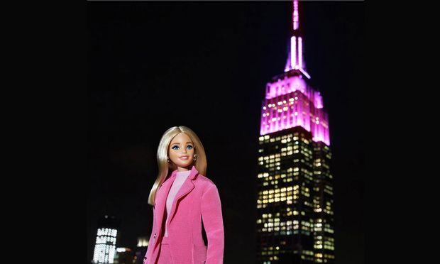New York in Rosa: Barbies 60. Geburtstag