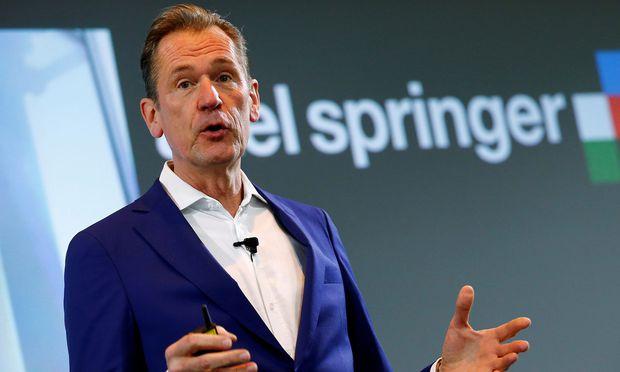 Axel Springer-Chef Mathias Döpfner  holt Finanzinvestor KKR an Bord