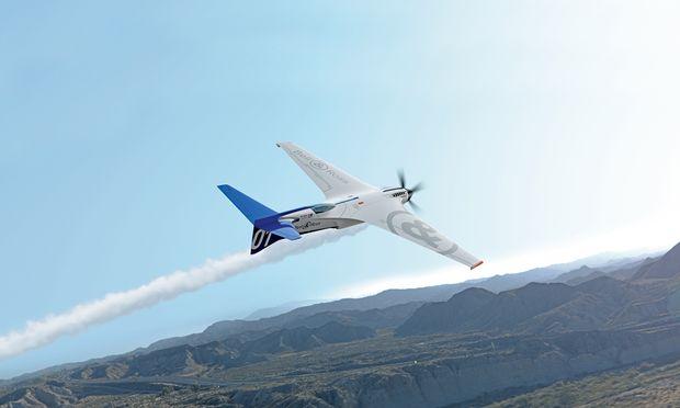 """Die Inspirationsquelle  für die """"Racing Bird""""-Zeitmesser ist der """"BR-Bird"""", ein Hochgeschwindigkeitsflugzeug. Beides entworfen von Bell & Ross."""