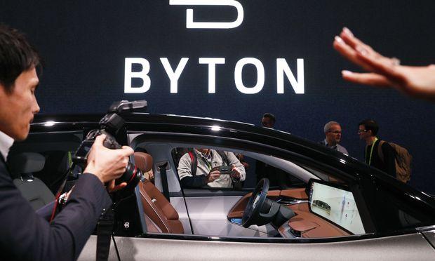 Nicht auf einer klassischen Automesse, sondern auf der aktuellen Consumer Electronic Show in Las Vegas stellte Byton sein Elektroauto vor.