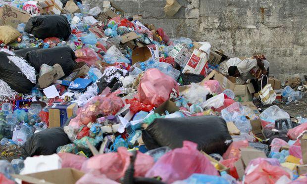 Müllhalde auf Male