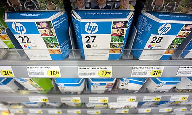 Symbolbild: Tonerpatronen von HP