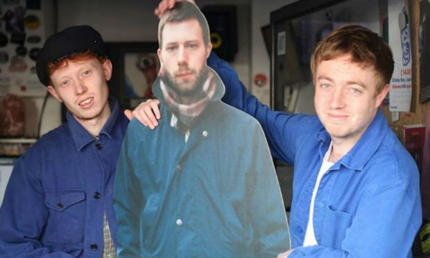 Das Duo Mount Kimbie.