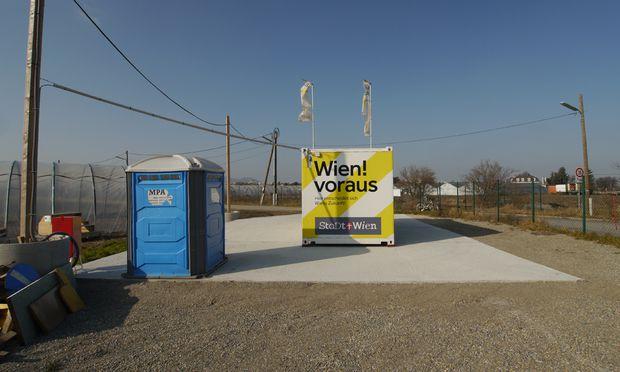 Begegnungsfeld? Infobox Ecke Dückegasse/An der Schanze.