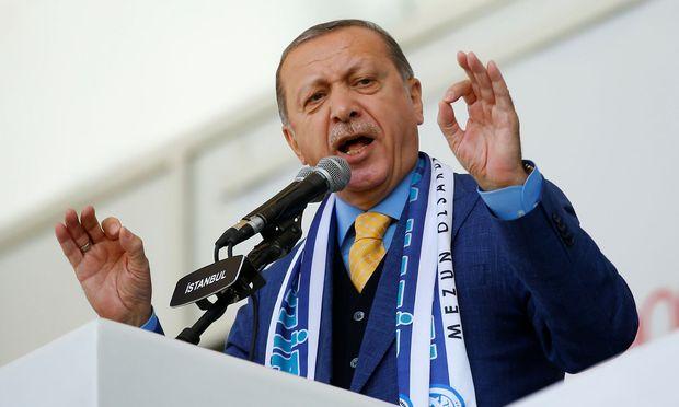 Präsident Recep Tayyip Erdogan