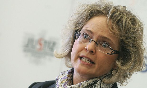 Ex-Justizministerin Claudia Bandion-Ortner