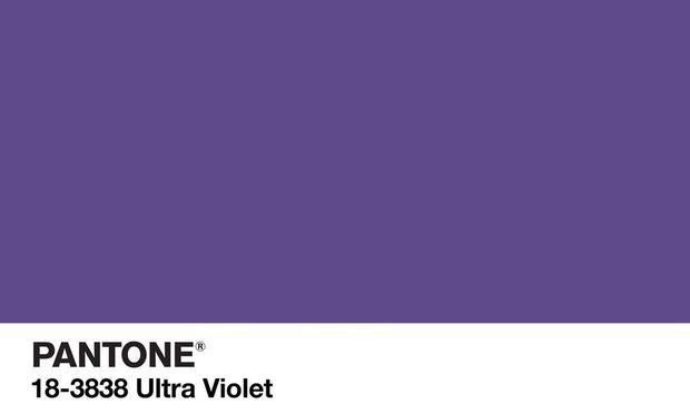 """Ultraviolett ist die """"Farbe des Jahres"""" 2018: Zumindest hat das Pantone Colour Institute sie dazu erklärt. Es will damit Trends setzen.  / Bild: (c) Pantone"""