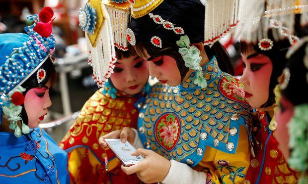 Chinesen hinterlassen mehr digitale Spuren als Menschen anderer Länder.