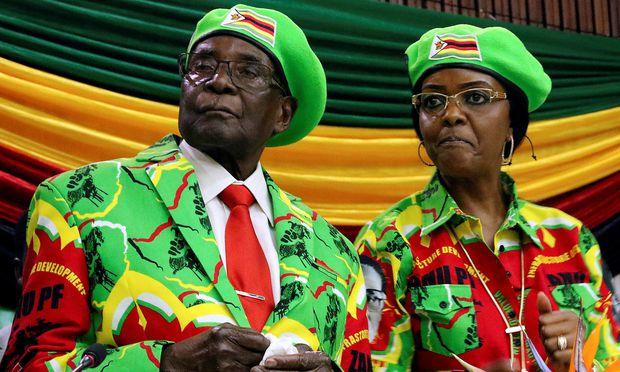 Regierungspartei setzt Robert Mugabe ab