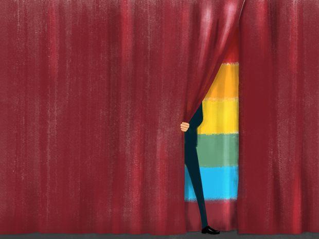 """Darüber reden ist wichtig, damit sämtliche sexuelle Identitäten eines Tages selbstverständlich und """"kein Thema"""" mehr sind. / Bild: (c) MGO"""