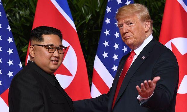 Kim und Trump im Juni