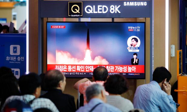 Berichte aus Südkorea: Nordkorea feuert erneut Raketen ab
