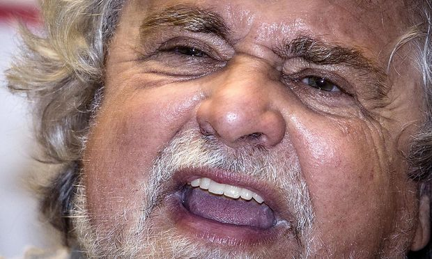 ITALY PARTIES GRILLO M5S