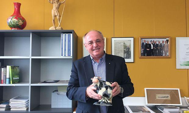 Erich Erber, Gruender und Vorstandsvorsitzender Erber AG