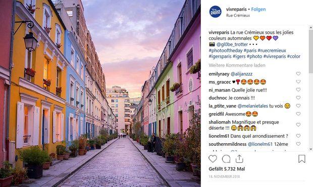 Diese kleine Pariser Straße wehrt sich gegen den Instagram-Ansturm.