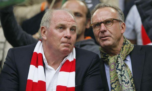 Die Bayern-Bosse: Hoeneß und Rummenigge