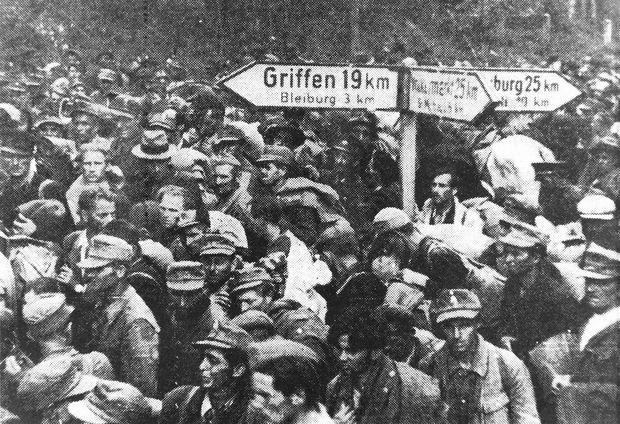 Kärnten 1945