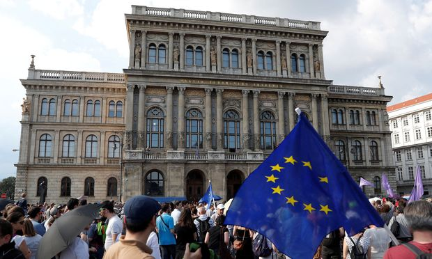 FILE PHOTO: Protest against government's plans to overhaul the Hungarian Academy of Sciences in Budapest