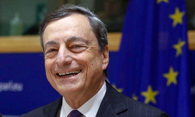 EZB-Chef Mario Draghi: Nullzinsen bleiben noch länger