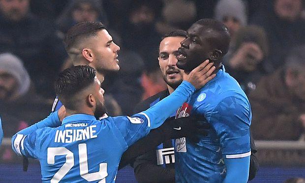 Inter gegen Napoli