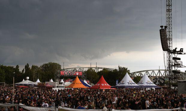 Das ''Rock in Vienna''-Festival auf der Donauinsel