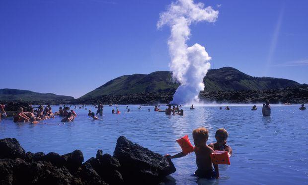 Vor allem bei Touristen beliebt: Thermalbad Blaue Lagune.