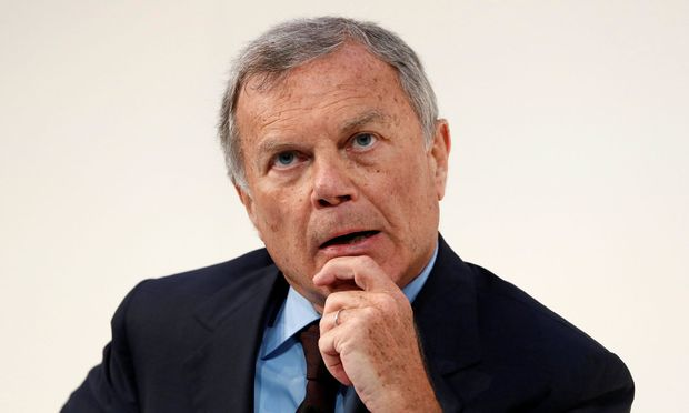 FILE PHOTO: Martin Sorrell, chairman and chief executive officer of WPP, the world's largest advertising company, speaks at the Confederation of British Industry's (CBI) annual conference in London.