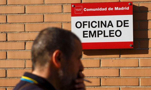 Arbeitsamt in Spanien