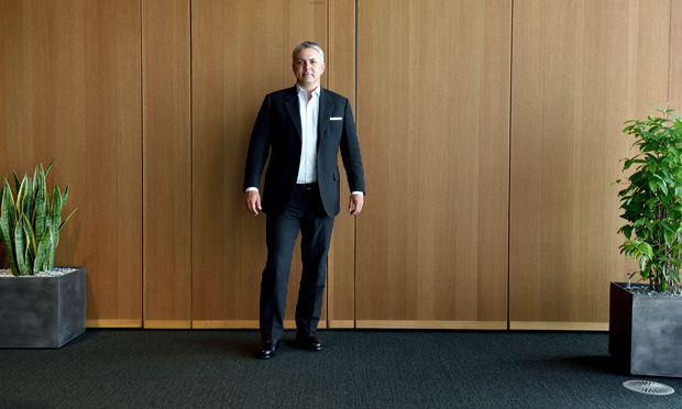 Erste-Vorstand Peter Bosek