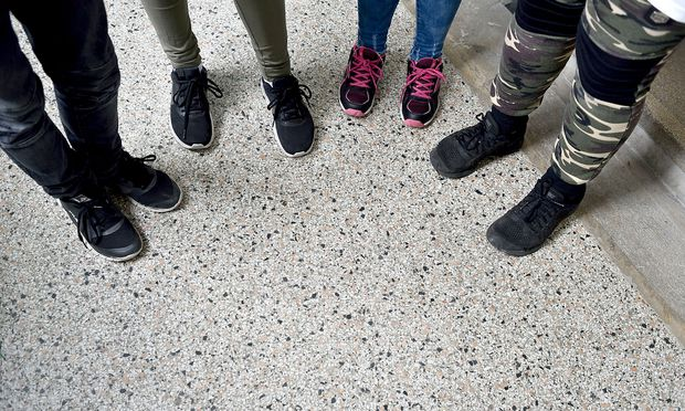 Symbolfoto: Flüchtlingskinder in Schule