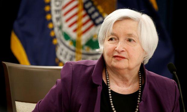 Janet Yellen, die Notenbankchefin der USA.