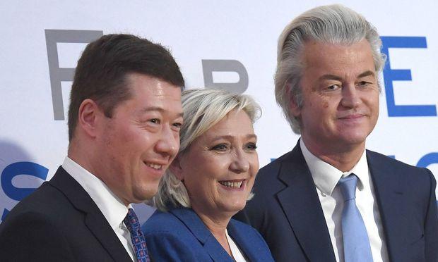Europas Rechtspopulisten fordern in Prag Ende der EU