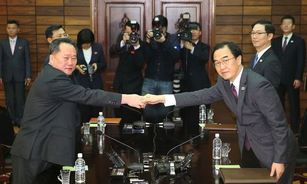 Nord- und Südkorea: Gipfeltreffen Ende April