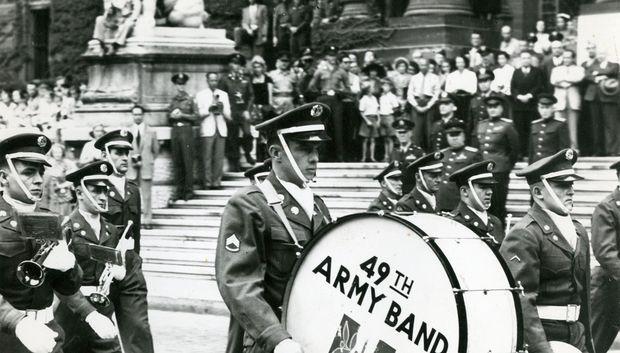 US-Militärmusik in Wien
