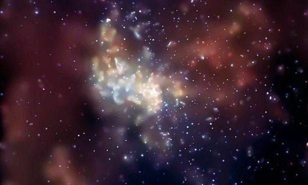 Forscher zeigen erste Aufnahme eines Schwarzen Lochs