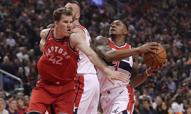 Jakob Pöltl gegen Washington Wizards